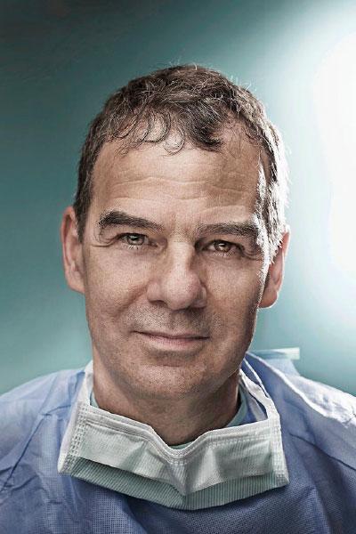 René Prêtre Responsable de la chirurgie du centre romand de cardiologie pédiatrique