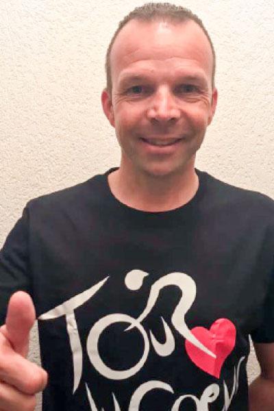 Laurent Dufaux – Cycliste professionnel de 1986 à 2003 – Champion suisse 1991 – Vainqueur du Tour de Romandie 1998